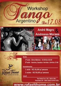 Workshop na Escola de Dança Rafael Thomé